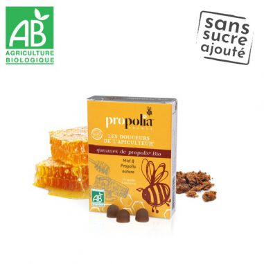 Propolis pastilles Honey